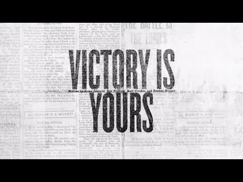 Victory Is Yours (Official Lyric Video) - Bethel Music  VICTORY
