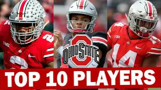 Ohio State Buckeyes Top 10 Players for the 2019 College Football Season