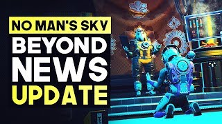 No Man's Sky Beyond NEWS UPDATE - Tons of Fixes Incoming & New Physical Release Next Month
