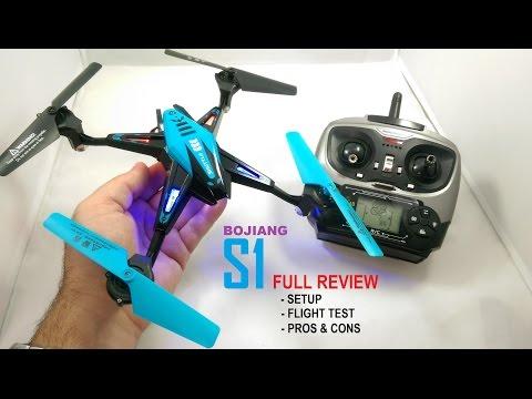 BOJIANG S1 QuadCopter Drone Review (Nihui U807 Killer?) - [Setup, Flight Test, Pros & Cons] - UCVQWy-DTLpRqnuA17WZkjRQ