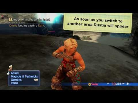Final Fantasy XII: The Zodiac Age - Easy XP Early (Dustia Farming) - default