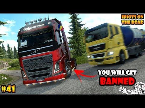 ★ IDIOTS on the road #41 - ETS2MP | Funny moments - Euro Truck Simulator 2 Multiplayer - UCtQderfNcfUETlYQ-rCYYJw
