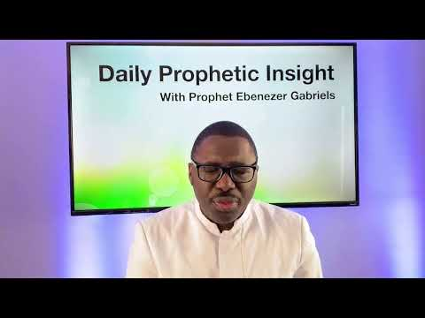 Prophetic  Insight Feb 10th, 2021