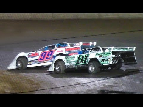 The RUSH Crate Late Model Feature at Stateline Speedway (Busti, NY) on Monday, May 27th, 2019! - dirt track racing video image