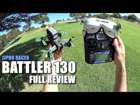 JJRC BATTLER 130 FPV Racer - Full Review - [Unbox, Inspection, Flight/Crash Test, Pros & Cons] - UCVQWy-DTLpRqnuA17WZkjRQ