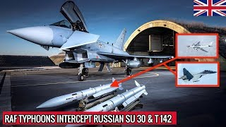 WHY RUSSIAN AIRCRAFT HAD NO CHANCE AGAINST BRITAIN'S TYPHOON ?