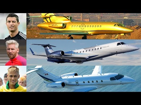 Most Expensive & Luxurious Private Jet Of Football Players - UCnJyFn_66GMfAbz1AW9MqbQ