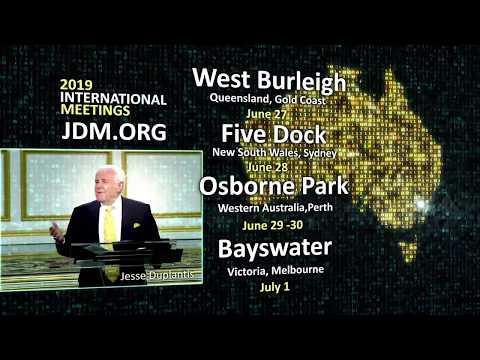 2019 JDM International Meetings:  Australia