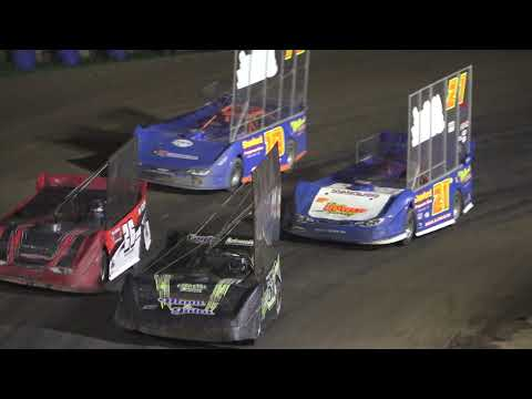 Outlaw Late Models A-Feature at Crystal Motor Speedway, Michigan on 09-05-2021!! - dirt track racing video image