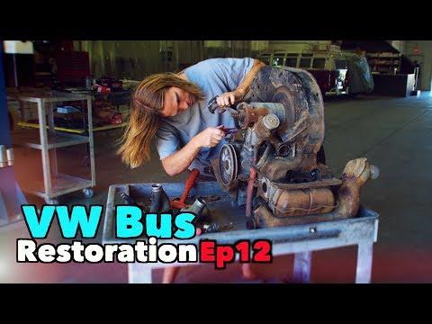 VW Bus Restoration - Episode 12 - DETAILS | MicBergsma