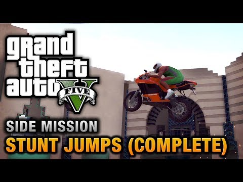 GTA 5 - Stunt Jumps [Show Off Achievement / Trophy] - UCuWcjpKbIDAbZfHoru1toFg