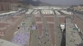 Hajj pilgrims perform symbolic 'stoning of devil'
