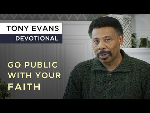 What is a Kingdom Man?  Devotional by Tony Evans