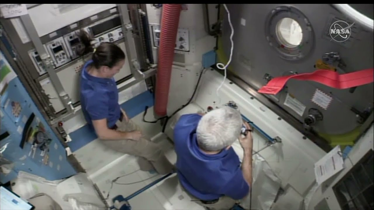 LIVE: ESA and NASA astronauts perform ISS spacewalk