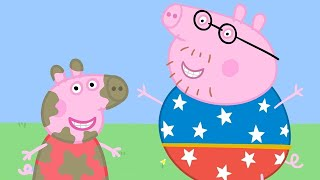 Peppa Pig Full Episodes   Champion Daddy Pig   Cartoons for Children