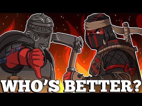 For Honor   WHO'S BETTER? CENTURION OR SHINOBI (New Characters   Season 2) - default