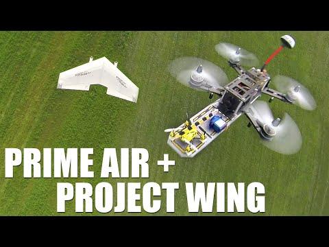 Flite Test - Google Project Wing + Amazon Prime Air - UC9zTuyWffK9ckEz1216noAw