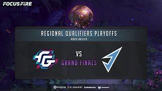 Beastcoast vs J. Storm - Game 3 (BO3) | The International 2019: NA Qualifier Grand Finals