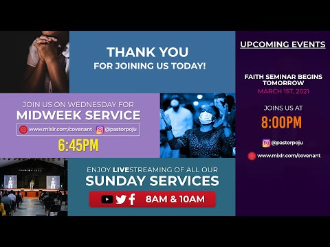 The Cloud of Glory: When God's Mercy Meets With Our Praise 2nd Service  28022021