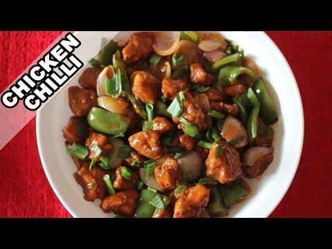Chilly Chicken | Easy Indian Chicken Recipe | Non-Veg Starter Recipes | Kanak's Kitchen