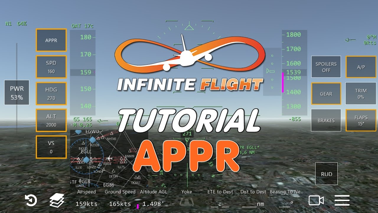 Como usar o APPR no Infinite Flight