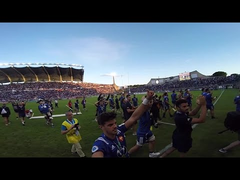 France U20s celebrate after winning World Rugby U20 Championship 2018