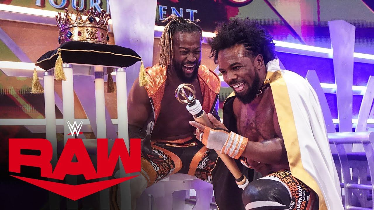 Xavier Woods vs. Jinder Mahal – King of the Ring Tournament Semifinals Match: Raw, Oct. 18, 2021