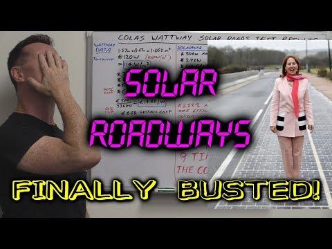 EEVblog #1047 - Solar Roadways FINALLY BUSTED! (Colas Wattway) - UC2DjFE7Xf11URZqWBigcVOQ
