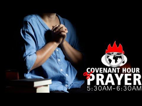 DOMI STREAM: COVENANT HOUR OF PRAYER 18, JUNE 2021  FAITH TABERNACLE