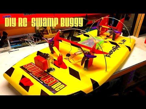Best DIY RC Swamp Buggy Air Boat Build How to build - UCFORGItDtqazH7OcBhZdhyg