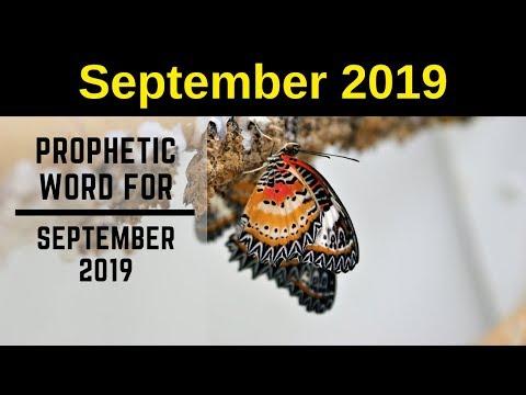 Prophetic Word  September 2019