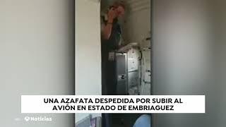 United Airlines: Azafata borracha que se quedó dormida en pleno vuelo
