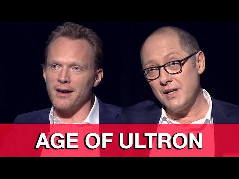 Avengers Age of Ultron Interview - James Spader & Paul Bettany Ultron & Vision - UCS5C4dC1Vc3EzgeDO-Wu3Mg