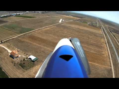 Landing Gracia - First Person View RC Plane landing through the onboard camera. - UCGQuRvkb7xMBULZzilkY-2w
