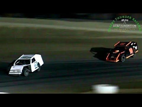 Desert Thunder Raceway IMCA Modified Main Event 8/7/21 - dirt track racing video image