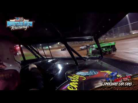 #8 Bradly Frost - Mini Stock - Mountain View Raceway 5-15-21 - InCar Camera - dirt track racing video image