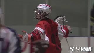Junior B Lacrosse - Six Nations Rebels vs Guelph Regals