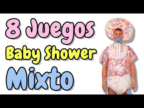 Youtube 8 Juegos Para Baby Shower Mixto Hd Masglee Com