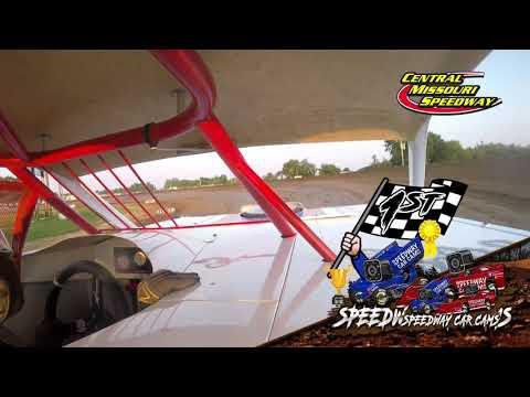 #45 Arron Poe - Powri Super Stock - 7-4-2021 Central Missouri Speedway - In Car Camera - dirt track racing video image