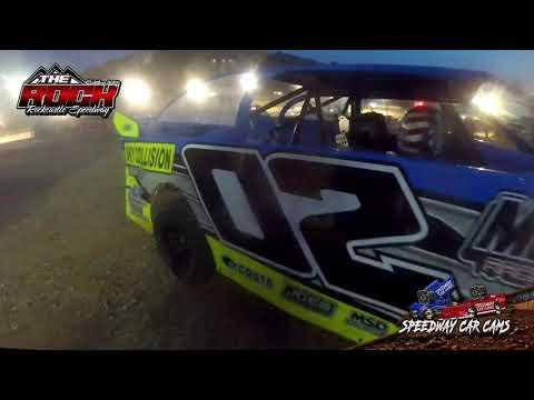 #02 Gunner Johnson - Mini Stock - 7-9-21 Rockcastle Speedway - In-Car Camera - dirt track racing video image