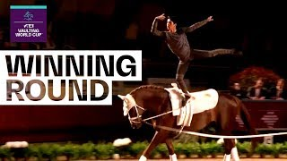 Shooting star Juan Martin Clavijo takes the title! | FEI Vaulting World Cup™ FINAL