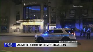 2 women robbed at gunpoint by woman on Michigan Avenue