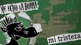 "ME ECHÓ LA BURRA ""mi tristeza"" (video lyric)"