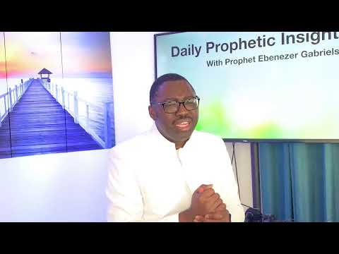 Prophetic insight t Jul 15 2021