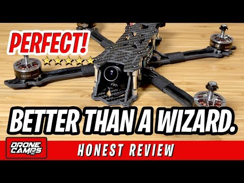 BETTER THAN A WIZARD - GEPRC MARK 2 Fpv Racing Drone - Honest Review, Flights, Pros & Cons - UCwojJxGQ0SNeVV09mKlnonA