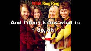 Ring, Ring Lyrics