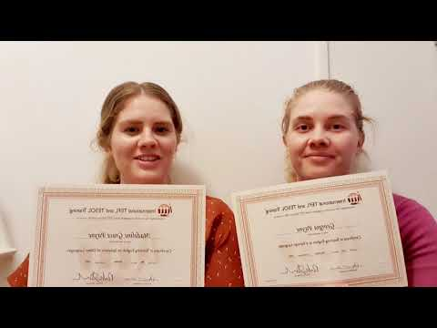 TEFL Review from Students Georgia and Maddy