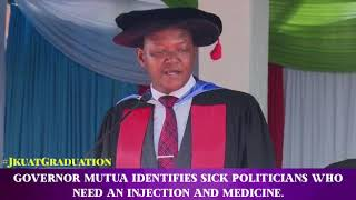 Dr. Alfred Mutua at #JKUATGRADUATION