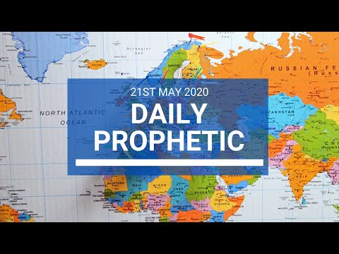 Daily Prophetic 21 May 2020 3 of 5