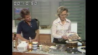 Pork in mushroom and cream sauce | Mary Berry Cooks | How cook Pork | Good Afternoon | 1974